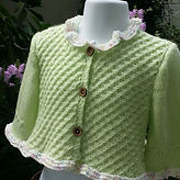 手編み教室 子供服