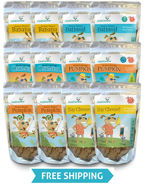 Case of 12 (8-oz bags) - Indicate flavors in Notes at checkout