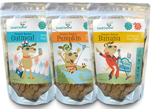 Special Edition Branson 3-flavor Pack (8-oz bags) - Oatmeal, Banana, Pumpkin