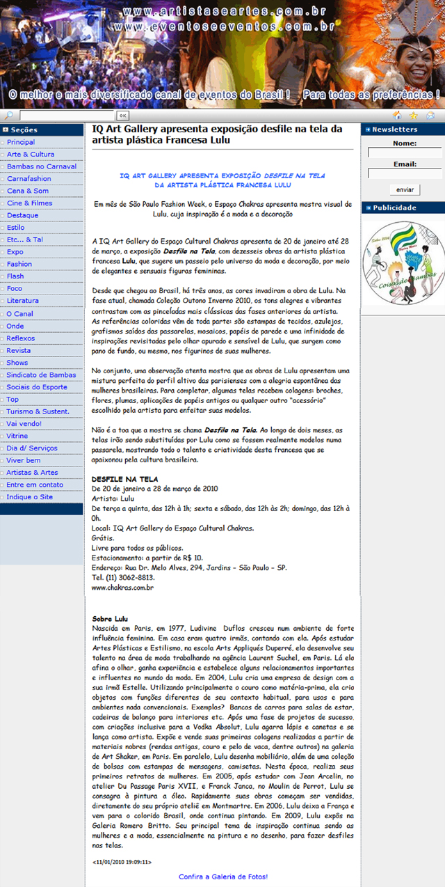 PORTAL EVENTOS E EVENTOS web