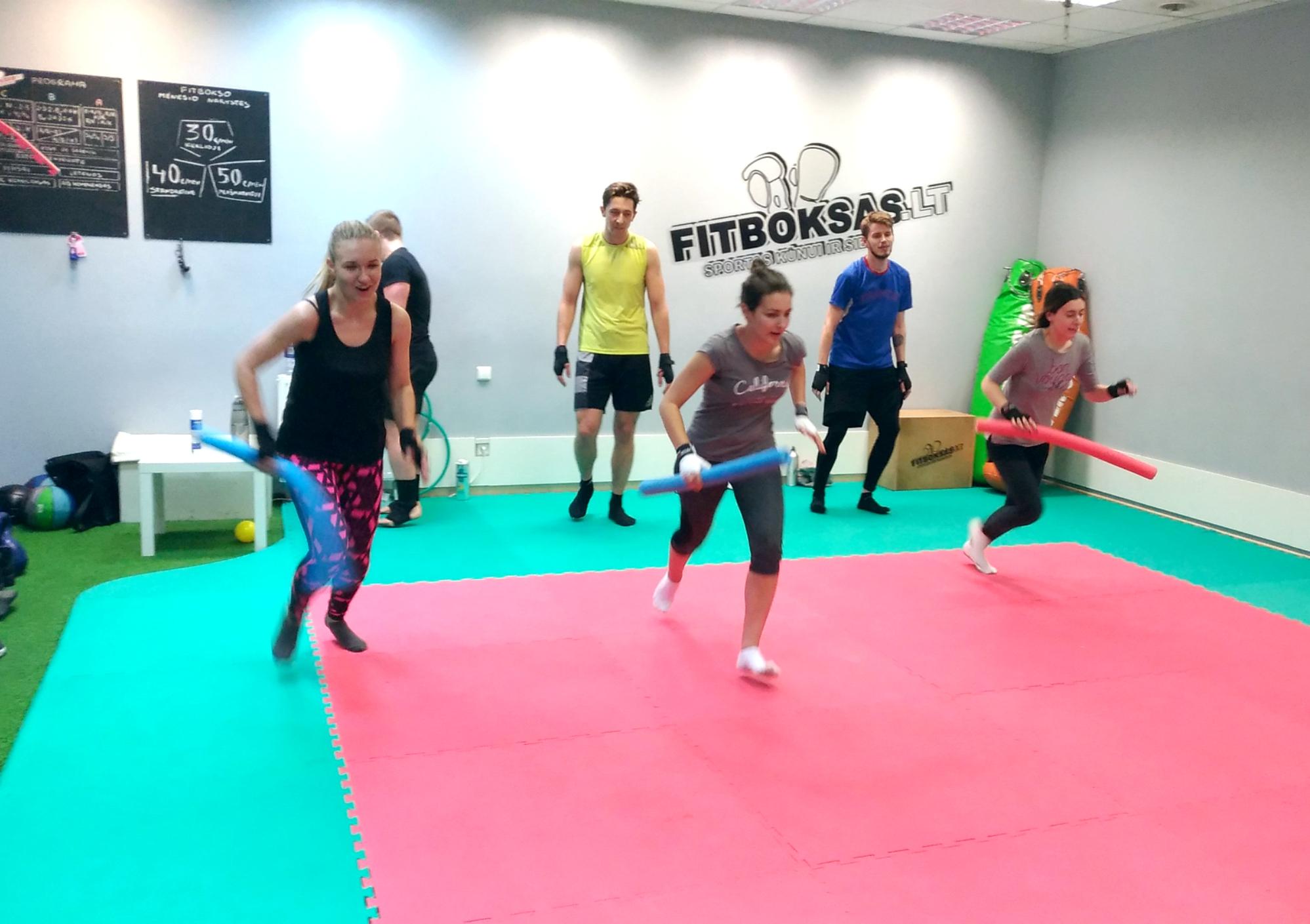 Fitbokso treniruotės