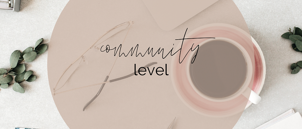 Attuned Membership - Community Level