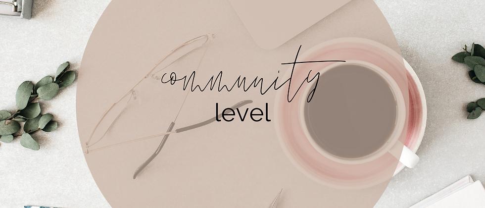Attuned Membership - Community Level
