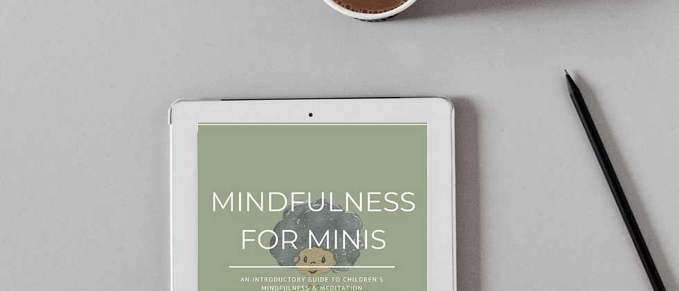 Mindfulness for Minis eBook