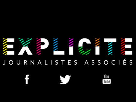 #EXPLICITE signe l'exit des médias traditionnels.