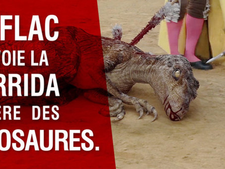 BETC renvoie la corrida à l'ère des dinosaures.