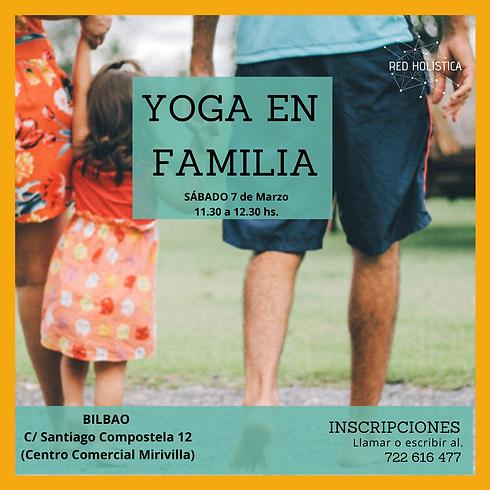 Yoga en Familia Bilbao