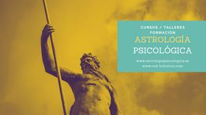 curso de astrología, aprender astrología psicológica, talleres de astrología, aprender astrología