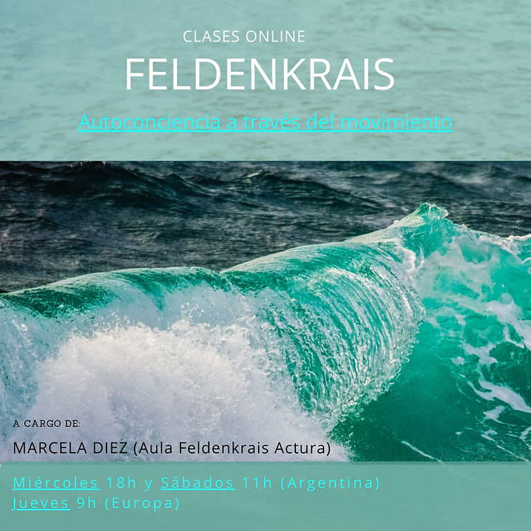 Clases Online Feldenkrais