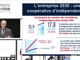 Le futur de l'entreprise, selon Joël de Rosnay