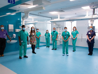 New Featured Project - Royal Free Hospital Level 3 ITU