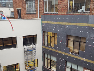 External Wall Insulation to Ansell and Bailey London Studio