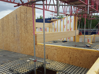 Primary School Pre Fabricated Timber Frame Erected in 1 Day