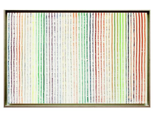 lien06-40M. Format: 100 x 65 cm - Peinture laque  - TTSCPA