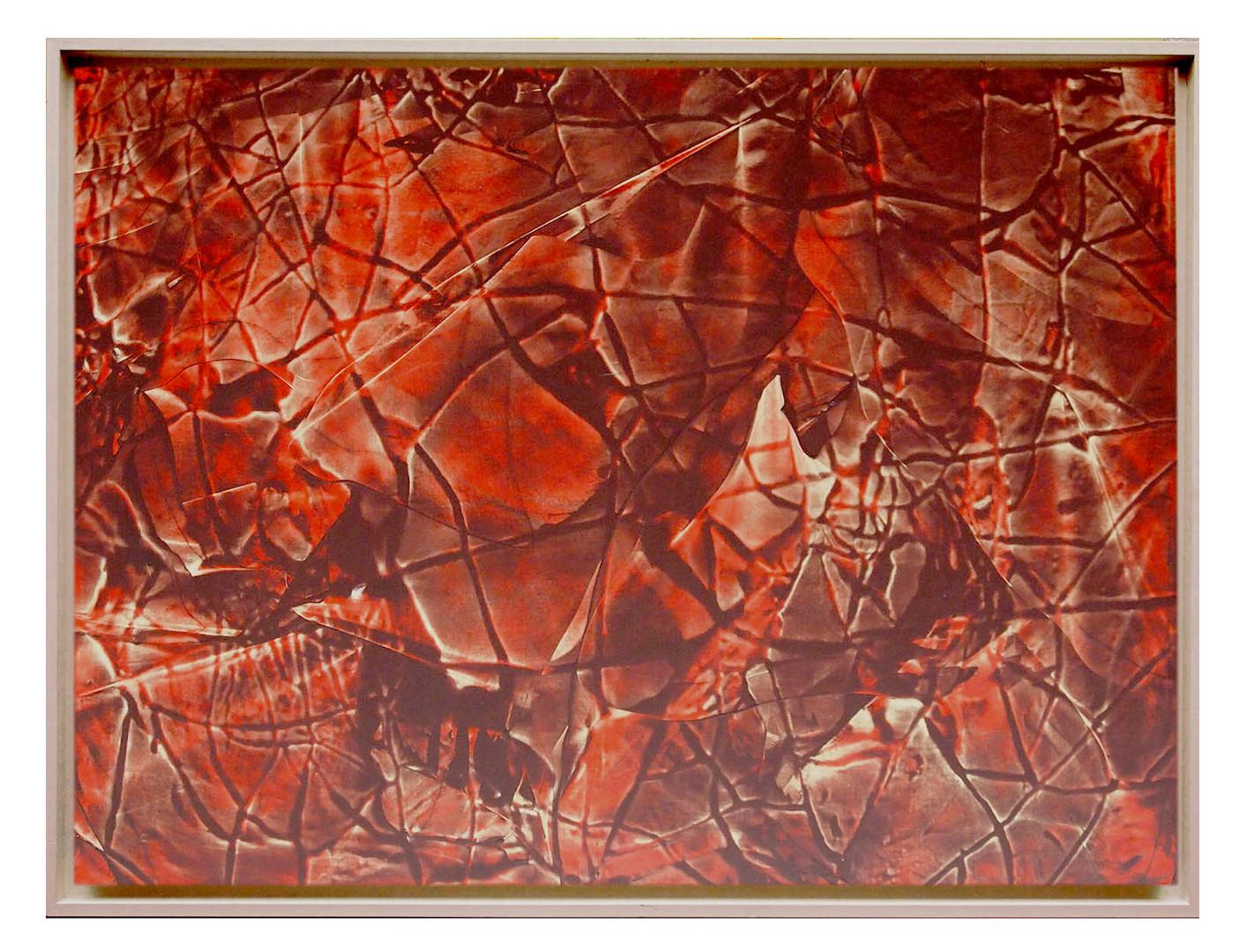 extrait02. Format: 92 x 73 cm - Peinture laque  - TTSCPA