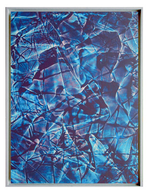 extrait05. Format: 92 x 73 cm - Peinture laque  - TTSCPA