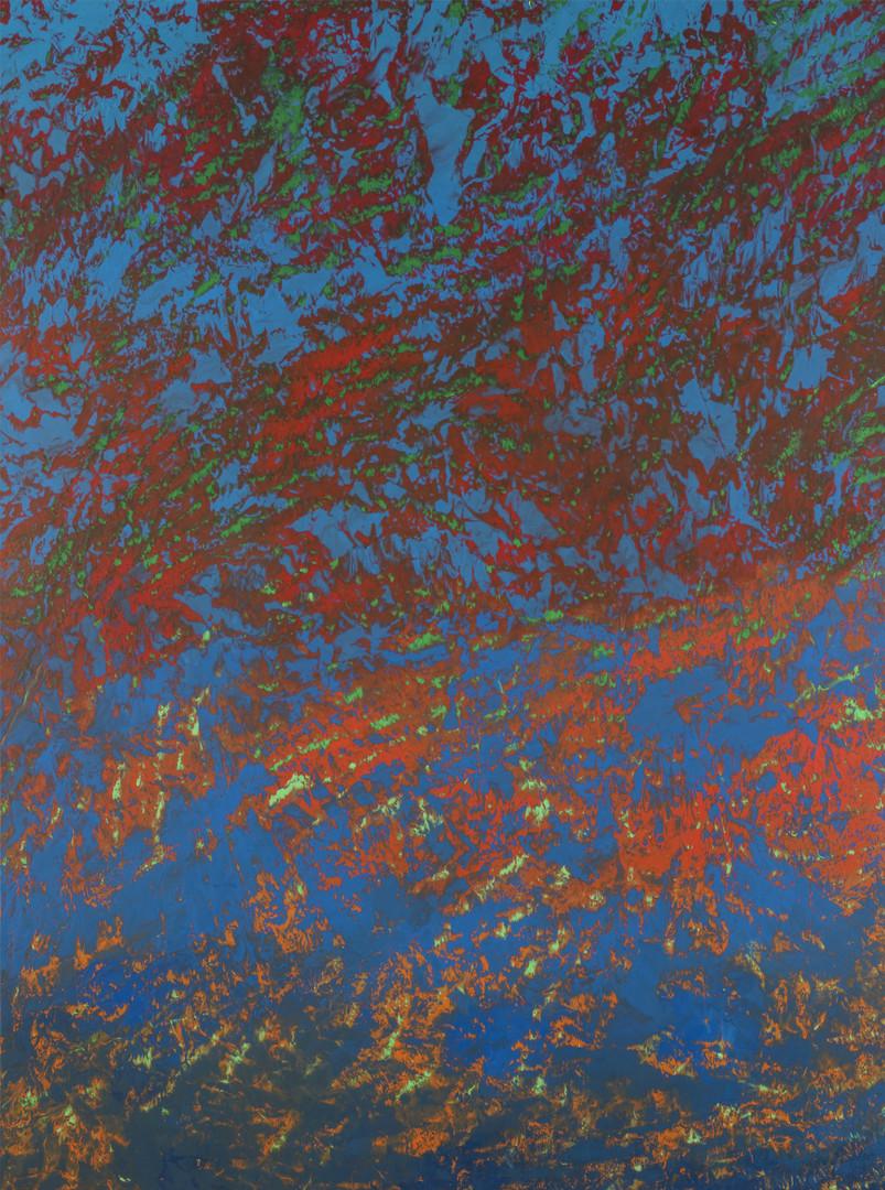 L-MoPLASMA01- 60F - 130 x 97 cm - Peinture laque  - TTSCPA