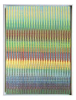 lien12. Format: 92 x 73 cm - Peinture laque  - TTSCPA