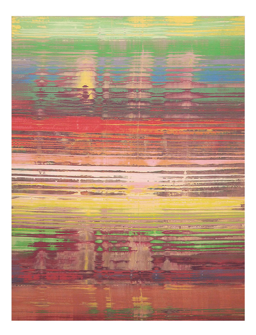 pri-11. Format: 130 x 97 cm - Peinture laque  - TTSCPA