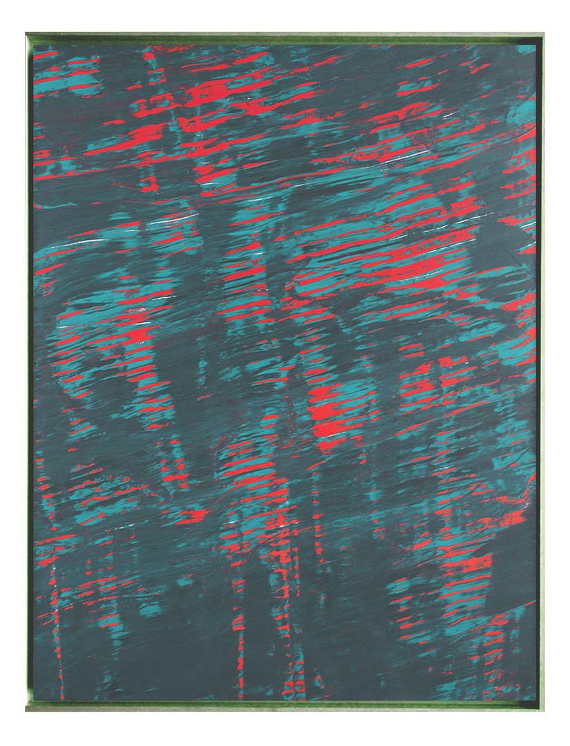 mue01. Format: 130 x 97 cm - Peinture laque  - TTSCPA