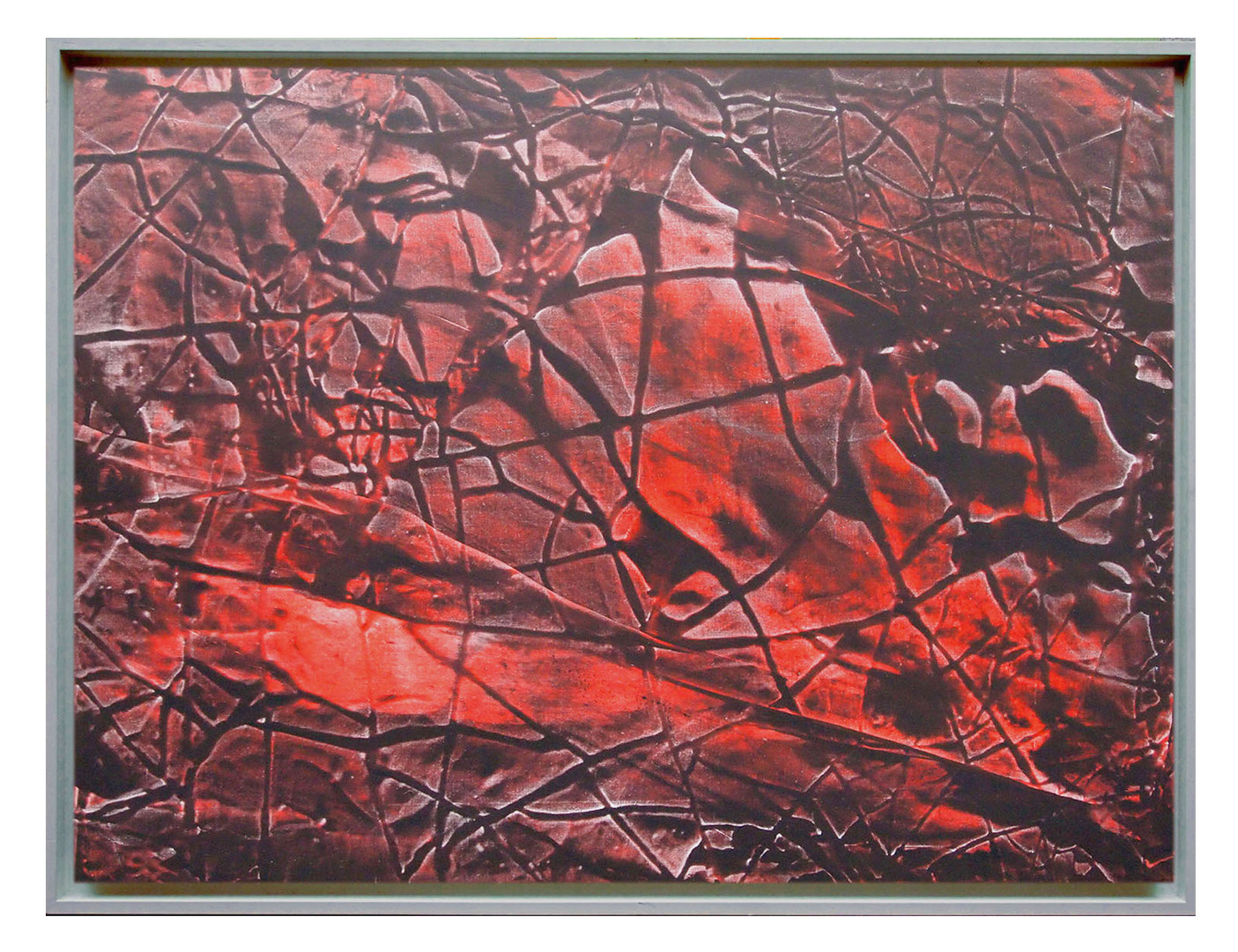 extrait01. Format: 92 x 73 cm - Peinture laque  - TTSCPA