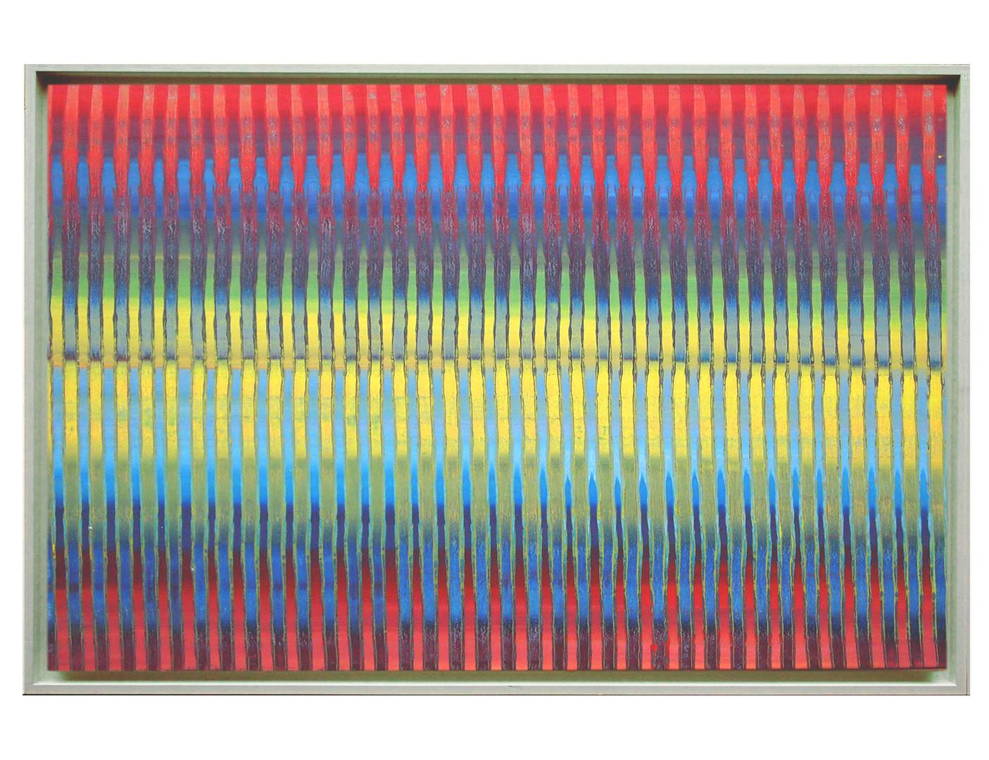 lien01-40M. Format: 100 x 65 cm - Peinture laque  - TTSCPA
