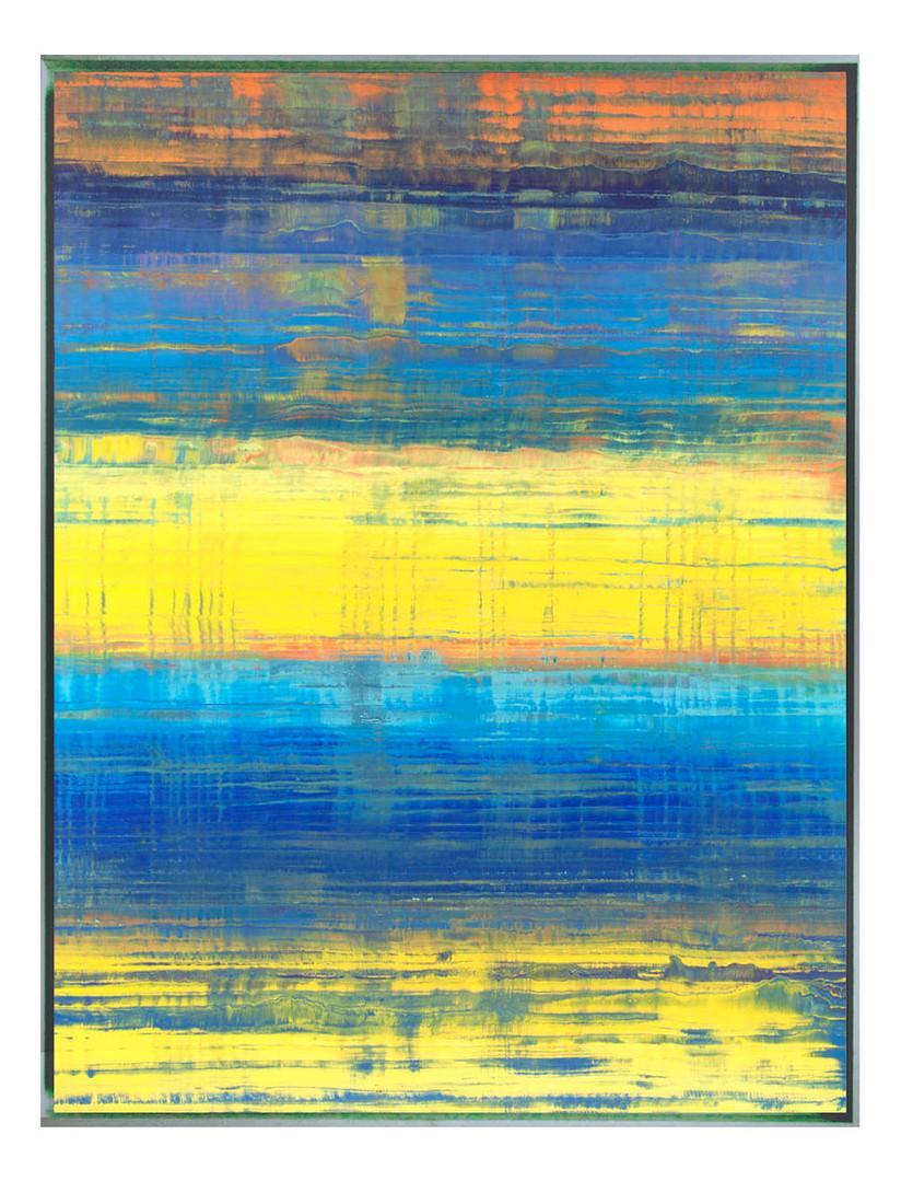 pri-07. Format: 130 x 97 cm - Peinture laque  - TTSCPA