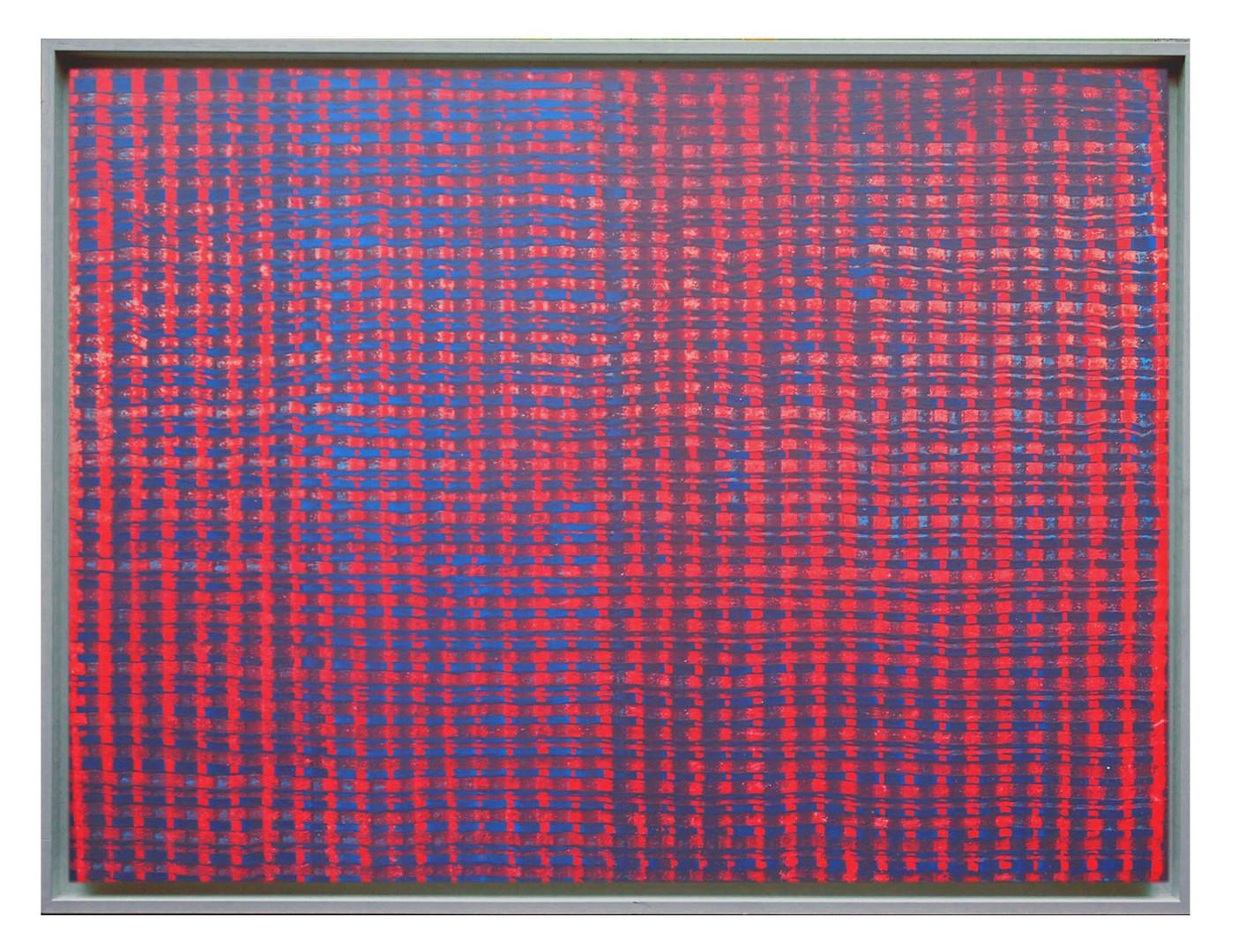 lien06. Format: 92 x 73 cm - Peinture laque  - TTSCPA