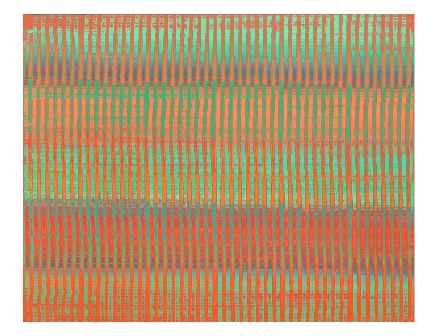 LM-lien04. Format: 92 x 73 cm - Peinture laque  - TTSCPA