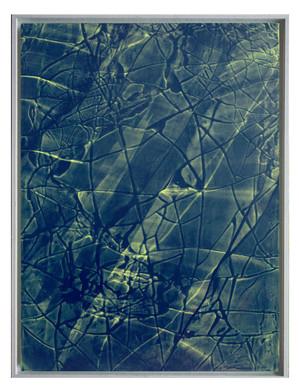 extrait06. Format: 92 x 73 cm - Peinture laque  - TTSCPA