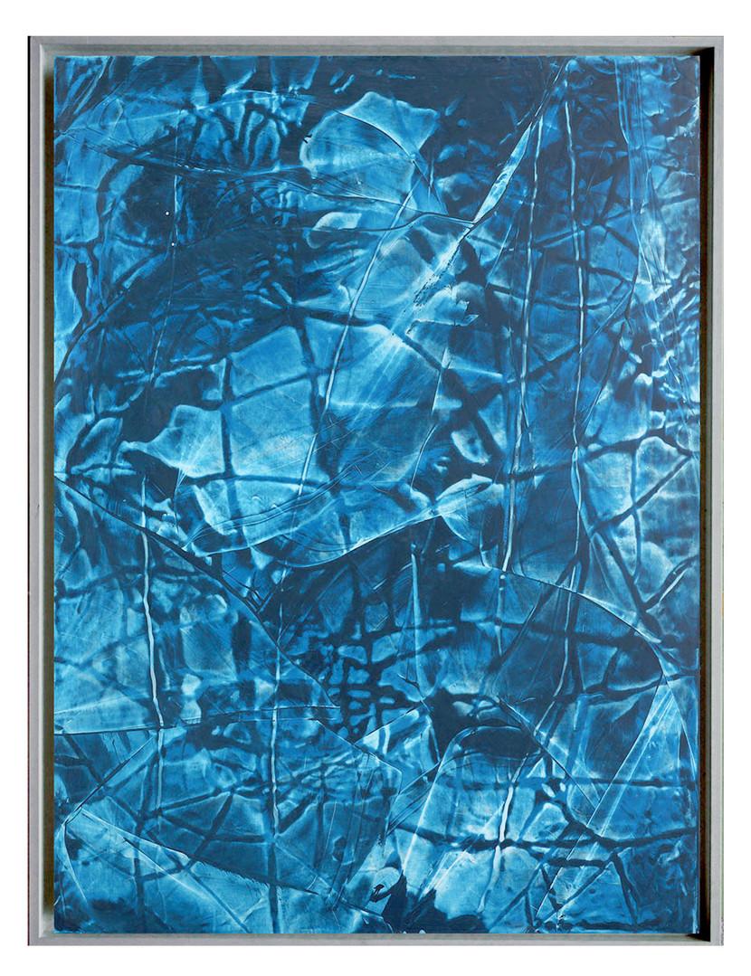 extrait09. Format: 92 x 73 cm - Peinture laque  - TTSCPA