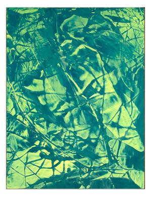 LM-extrait01. Format: 92 x 73 cm - Peinture laque  - TTSCPA