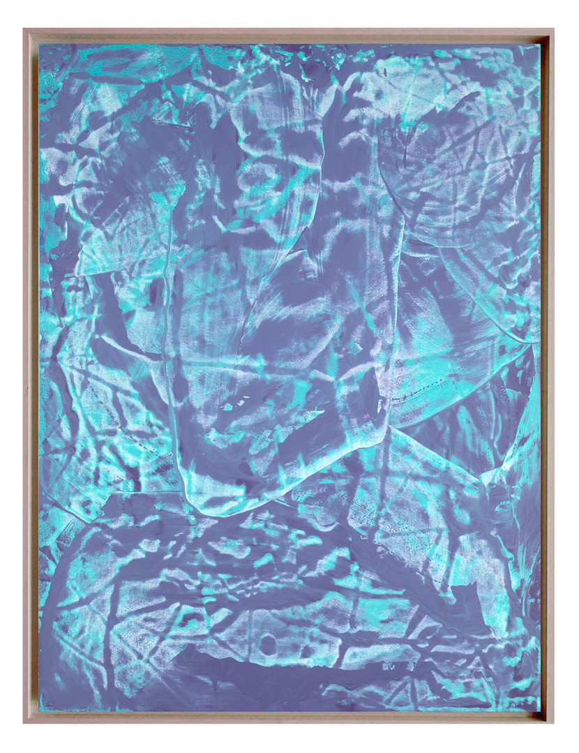 LM-extrait03. Format: 92 x 73 cm - Peinture laque  - TTSCPA