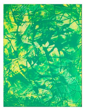 LM-extrait02. Format: 92 x 73 cm - Peinture laque  - TTSCPA