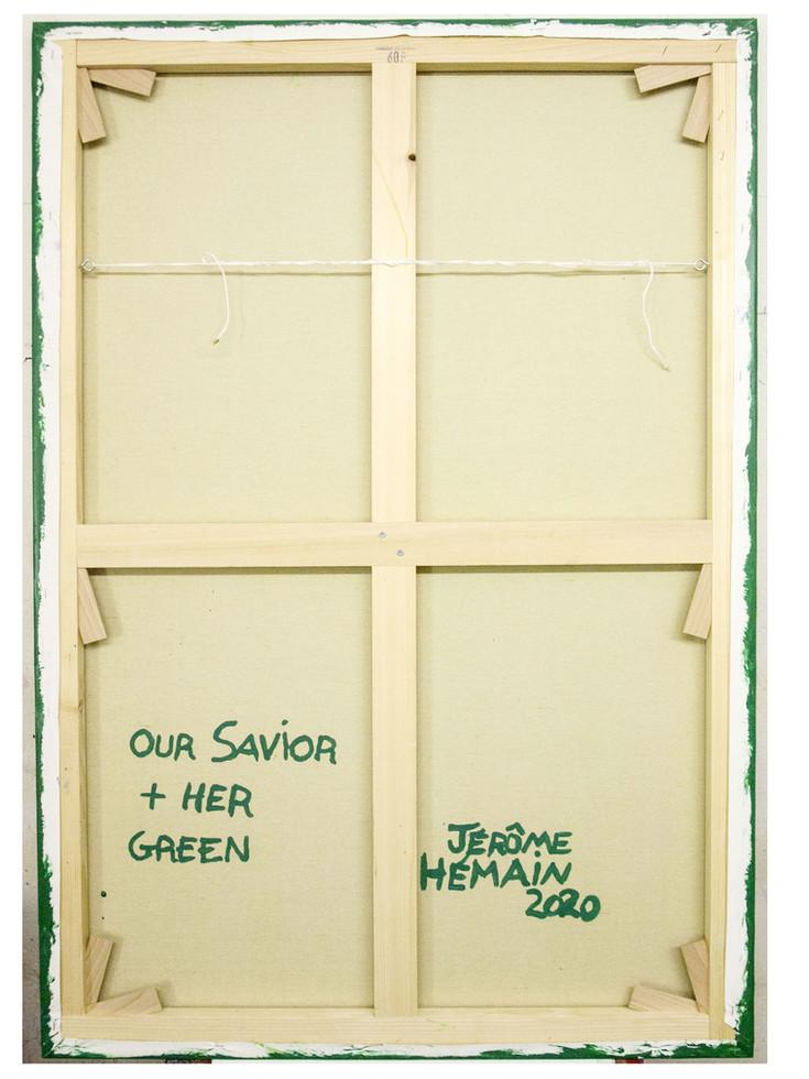 Dos Our Savior green + Her