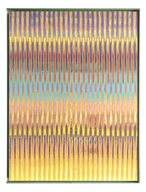lien-60F-01. Format: 130 x 97 cm - Peinture laque  - TTSCPA