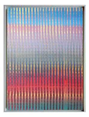 lien03. Format: 92 x 73 cm - Peinture laque  - TTSCPA