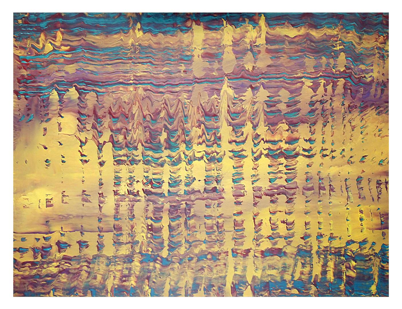 archer02. Format: 130 x 97 cm - Peinture laque  - TTSCPA