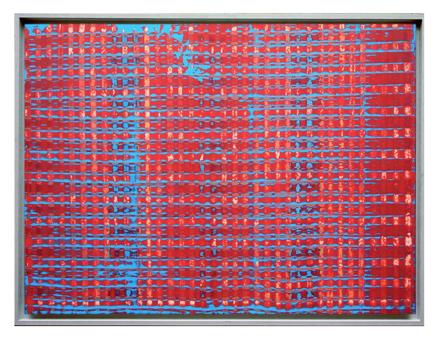 lien08. Format: 92 x 73 cm - Peinture laque  - TTSCPA