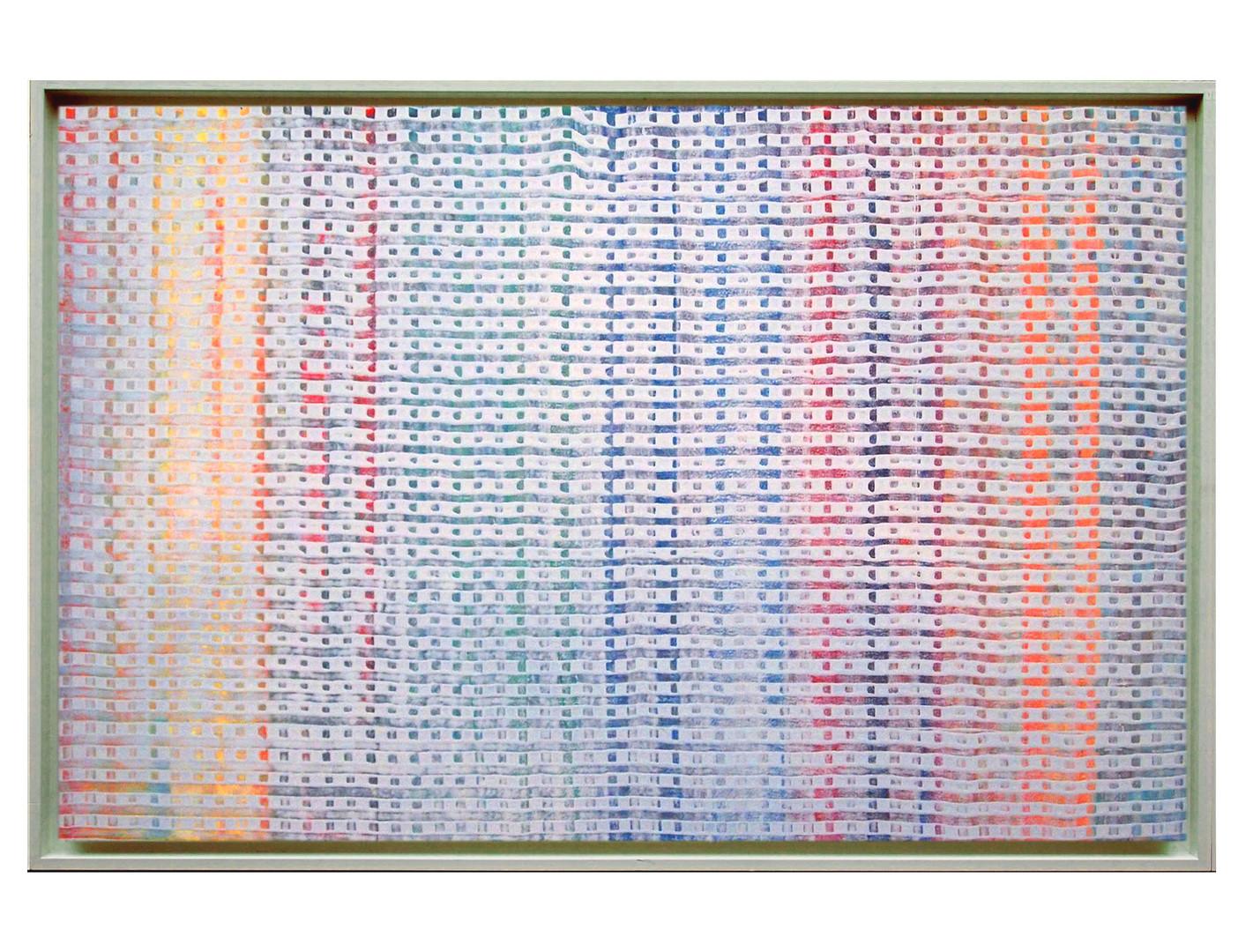 lien04-40M. Format: 100 x 65 cm - Peinture laque  - TTSCPA