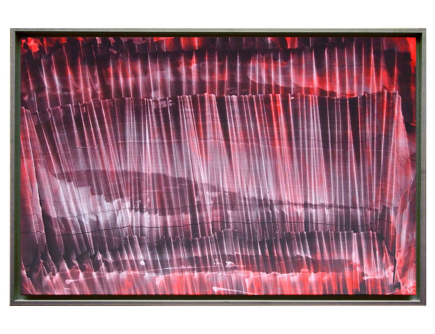 cqfd01-40M. Format: 100 x 65 cm - Peinture laque  - TTSCPA