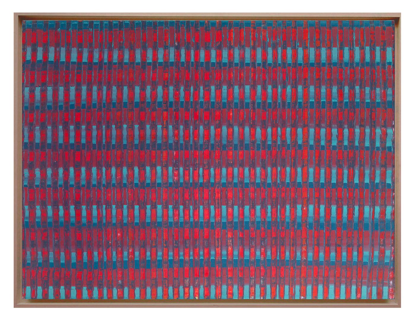 lien07. Format: 92 x 73 cm - Peinture laque  - TTSCPA