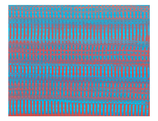 LM-lien03. Format: 92 x 73 cm - Peinture laque  - TTSCPA