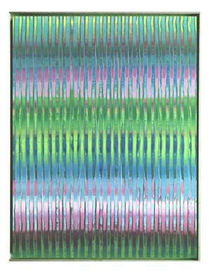 lien-60F-02. Format: 130 x 97 cm - Peinture laque  - TTSCPA