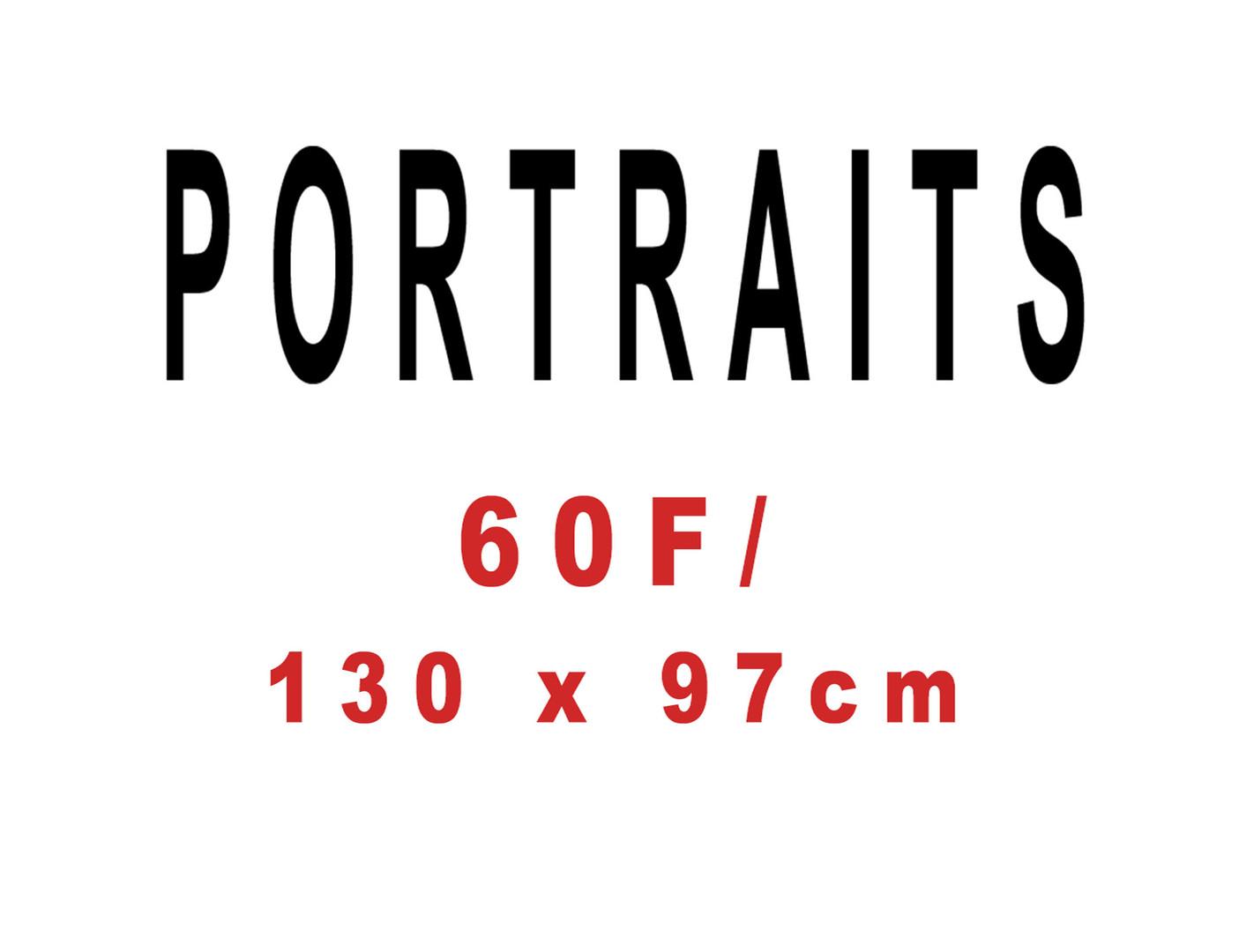 Série de portraits.