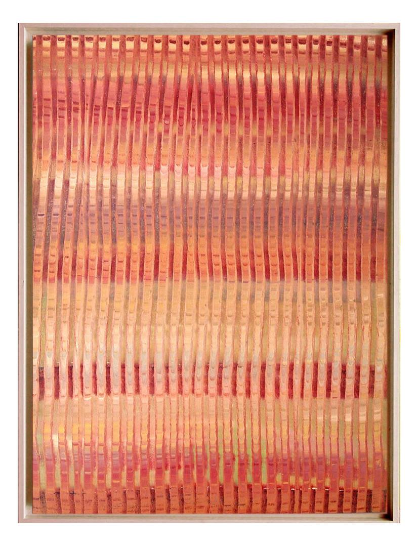 lien01. Format: 92 x 73 cm - Peinture laque  - TTSCPA
