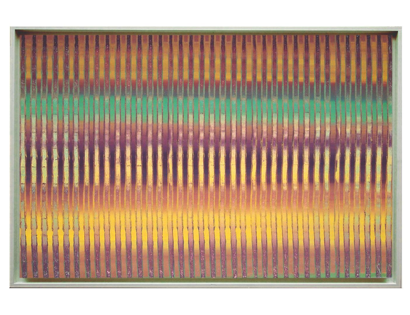 lien02-40M. Format: 100 x 65 cm - Peinture laque  - TTSCPA