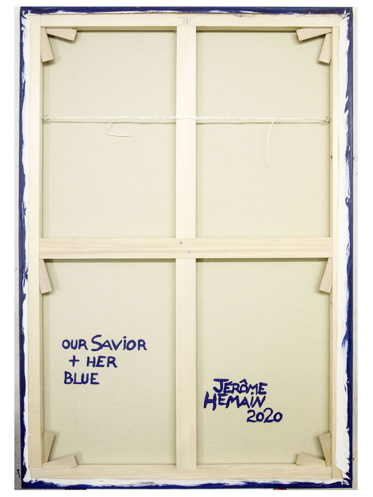 Dos Our Savior blue + Her