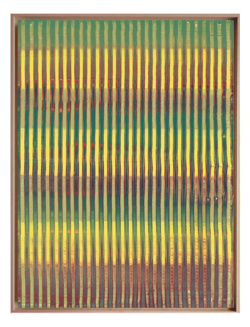 lien02. Format: 92 x 73 cm - Peinture laque  - TTSCPA
