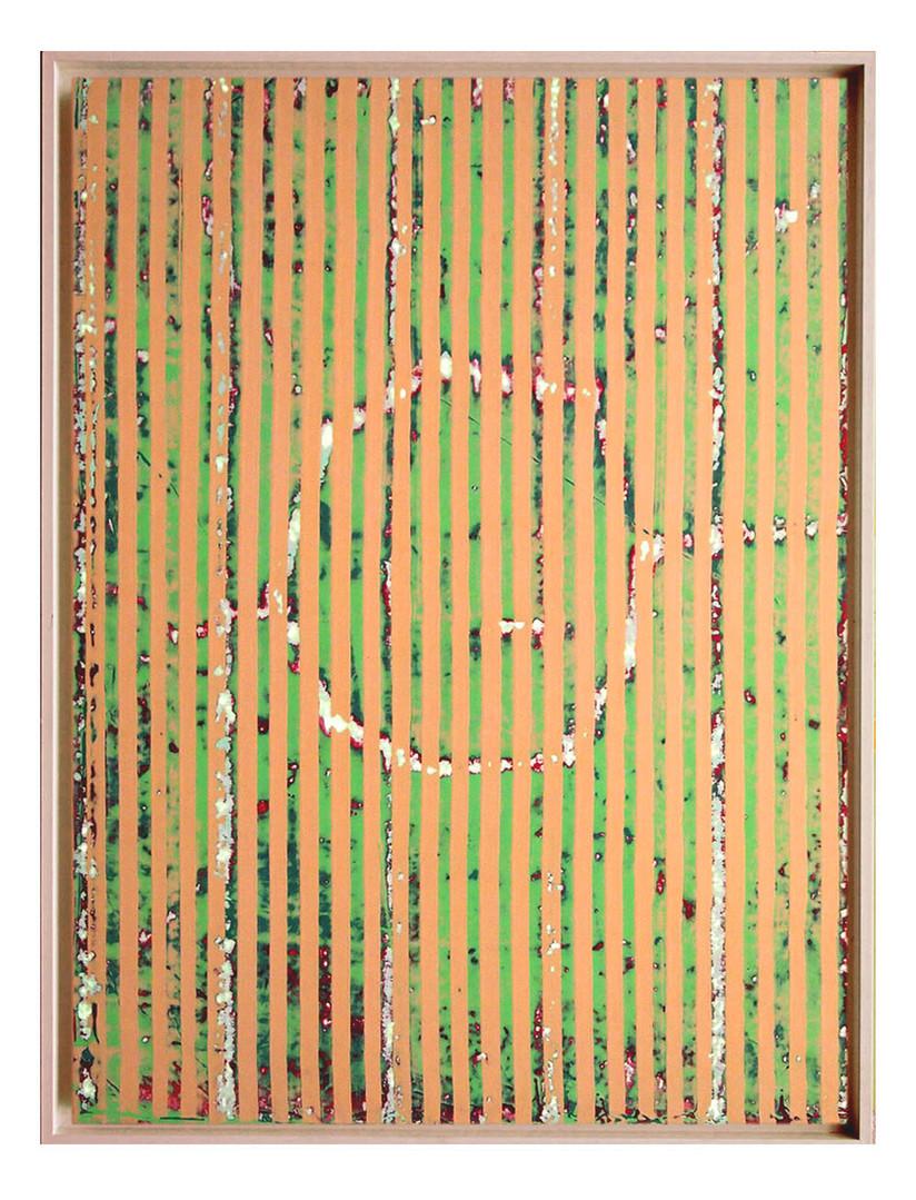 lien09. Format: 92 x 73 cm - Peinture laque  - TTSCPA